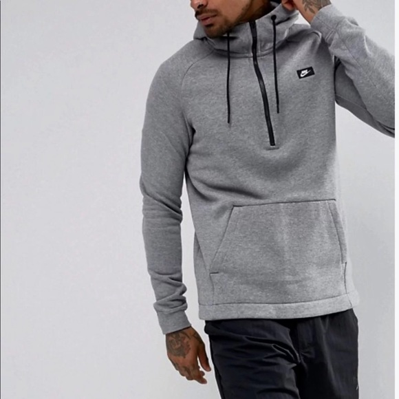 M, L, XL or XXL NIKE MODERN HALF ZIP HOODIE MEN NWT